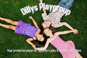 Playgroup Poster Template