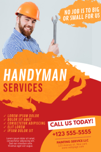 Plumber Handyman Service Design Template