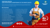 Plumbing, Heating services Blog Header template