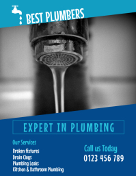 PLUMBING BUSINESS FLYER
