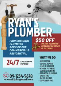 Plumbing Service Flyer