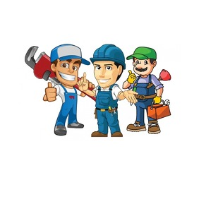 Plumbing Services Logo template