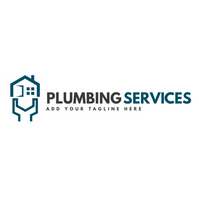 plumbing services icon logo template