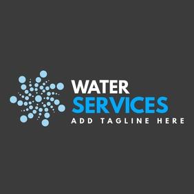 Plumbing small business logo template design