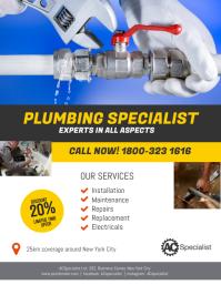 Plumbing Specialist Flyer