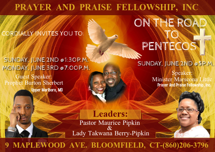 PNP On the Road to Pentecost Prophet Burton
