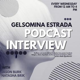 podcast interview instagram post