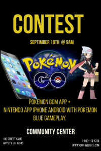 Pokemon IPhone Contest