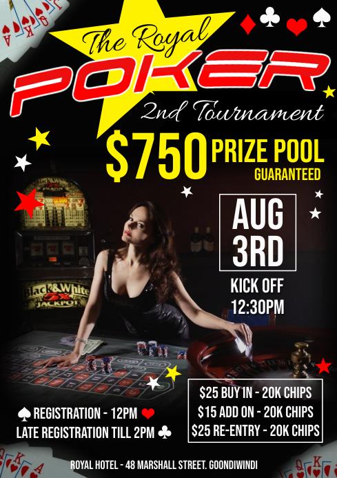Poker Championship A1 template