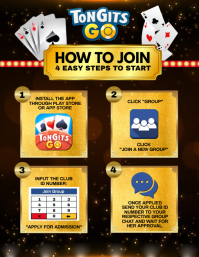 Poker Infographics Flyer (Letter pang-US) template