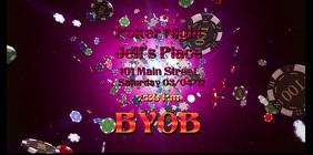 Poker Night Video Flyer