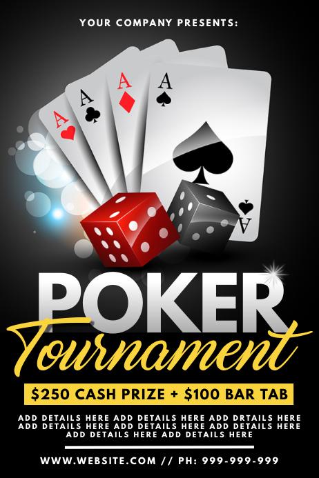 Poker Tournament Poster