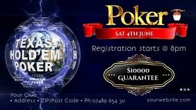 Poker Tournament Video Advert