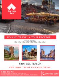 Poland Tour / Travel Flyer Template