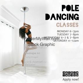 pole dancing class insta