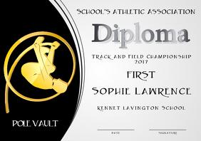 pole vault diploma first