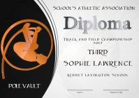 pole vault diploma third