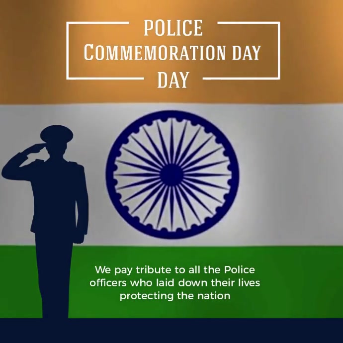 POLICE COMMEMORATION SOCIAL MEDIA TEMPLATE Logotipo