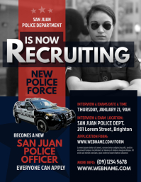 Police Recruitment Flyer