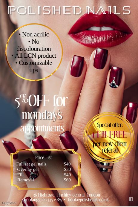 Polished Nails poster