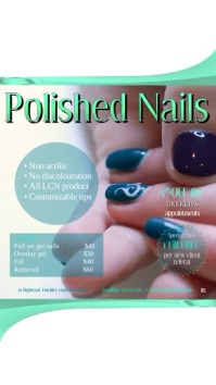 Polished Nails Video Digital Display (9:16) template