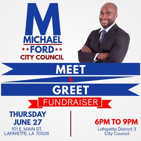 POLITICAL CAMPAIGN MEET & GREET FUNDRAISER