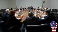politics meeting usa america YouTube-Miniaturansicht template