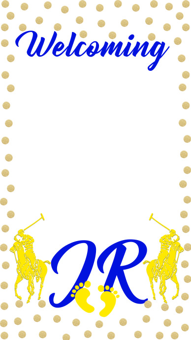 Polo Theme Filter Snapchat Geofilter template