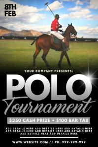 Polo Tournament Poster