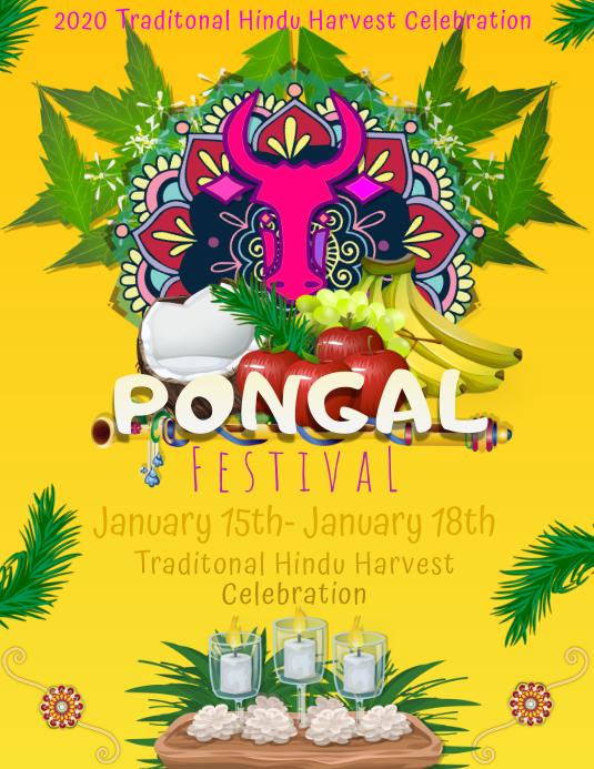Pongal Festival Hindu India Harvest Tradition