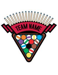 Pool Billiards Logo