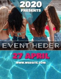 POOL EVENT VIDEO TEMPLATE Pamflet (VSA Brief)