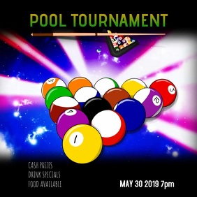 pool league tournament video instagram
