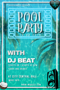 POOL PARTY AD /FLYER/POSTER/BANNER