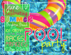 270 customizable design templates for pool postermywall