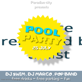 pool party insta