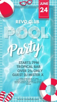 Pool Party Instagram Video Template