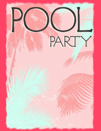 POOL PARTY PARTY BAR PARTY BEACH CLUB