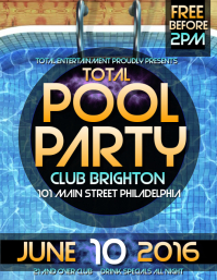 15 830 customizable design templates for pool party postermywall