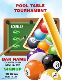 Pool Table Tournament