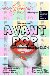 POP ART Fashion Poster template