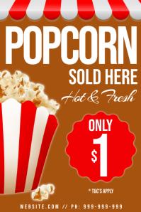 Popcorn Poster