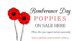 Poppy Appeal Poster Template Kartu Bisnis