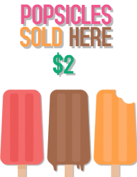 Popsicle Flyer Template