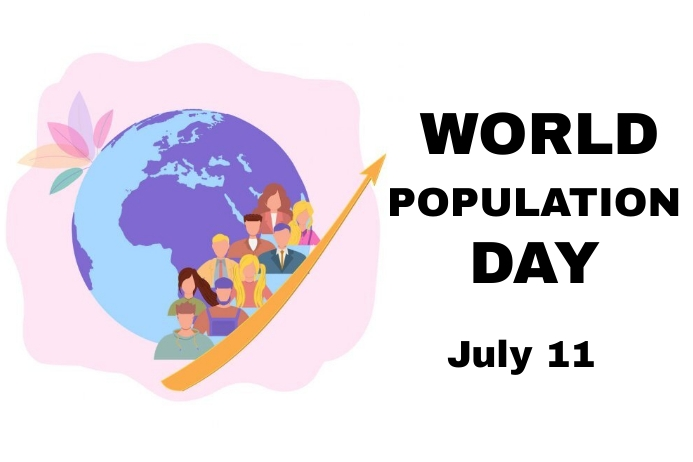 Population Day Label template