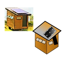 Portable Office Design Логотип template
