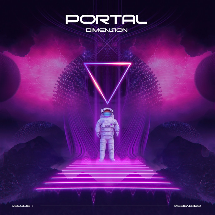 Portal Dimension Album Cover Artwork Artwork Albumhoes template