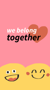 Positive quote Love quote Instagram Story 3-8 template
