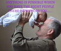POSSIBLE AND SUPPORT QUOTE TEMPLATE Stort rektangel