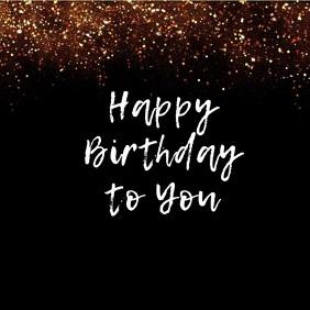 post de cumpleaños video instagram template